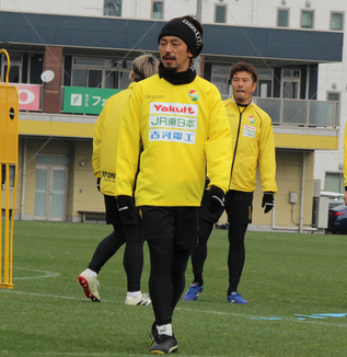 工藤浩平選手「何かの縁も感じますし、しっかり力を貸しながら、チームとしてJ1に行けるように努力していかなきゃいけない」