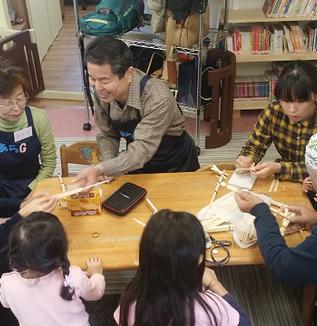 【子ども・JIBUNテレビ】達人直伝!割りばし鉄砲の作り方/地域の親子のお助け隊、あらG参上