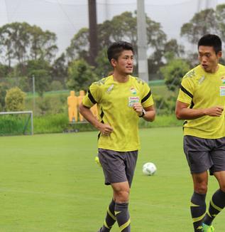 北爪健吾選手「チーム、サポーターのためにもしっかり勝点3を積み上げられるように頑張りたい」