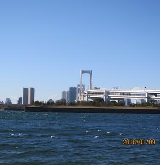 江戸湾・第三、第六台場