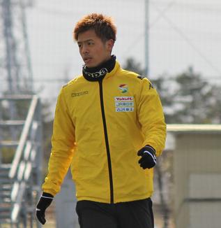 山下敬大選手「やっぱり勝利につながるゴールを取りたいです」