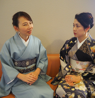 <若宮流宗家&輝千>日本の子供達のお稽古事情を語る
